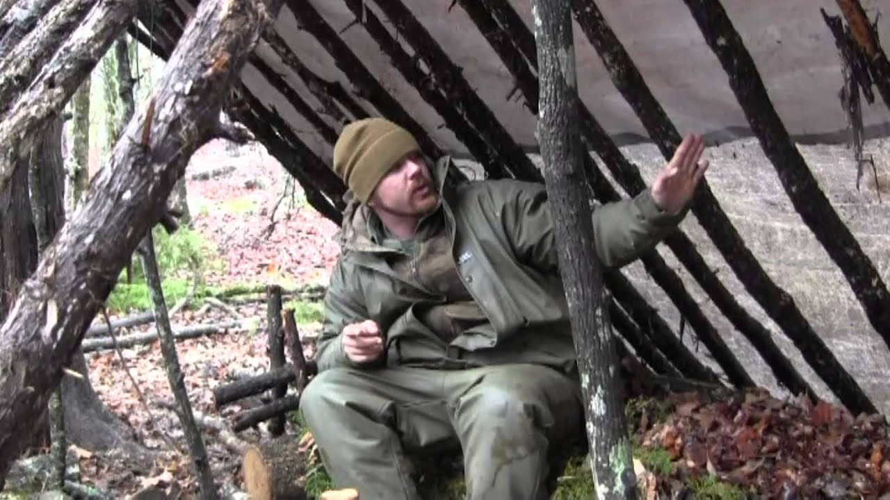 How to Build a Primitive Double Lean-To Shelter