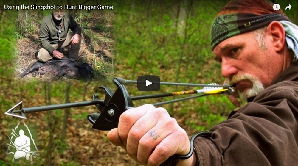 Step by Step Guide: How to Use a Slingshot to Hunt Big Game