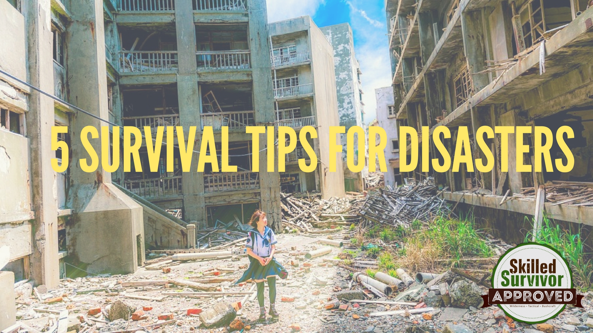 survival tips for disasters