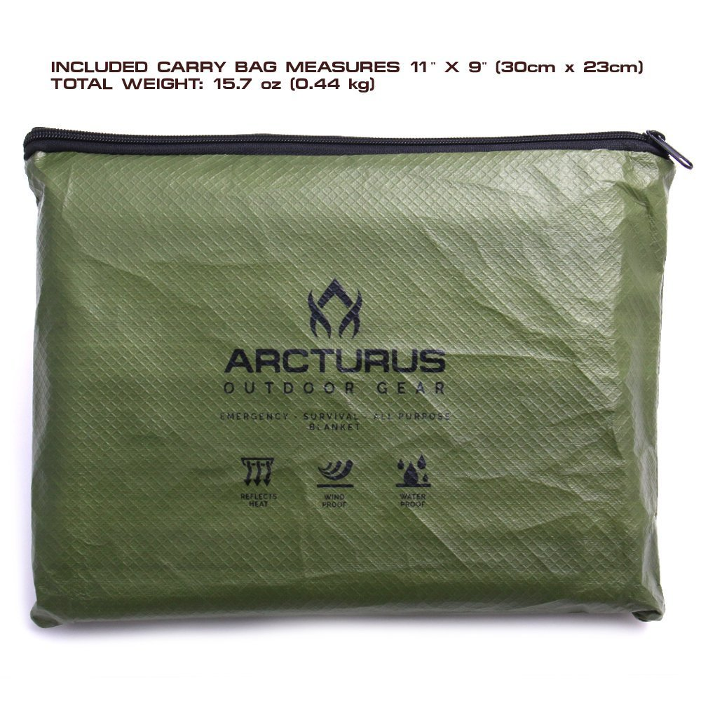 a picture of a arcturus survival tarp