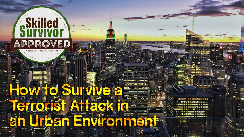How to Survive a Terrorist Attack in an Urban Environment?