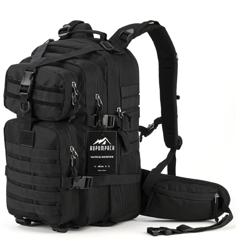 a picture of a survival backpack