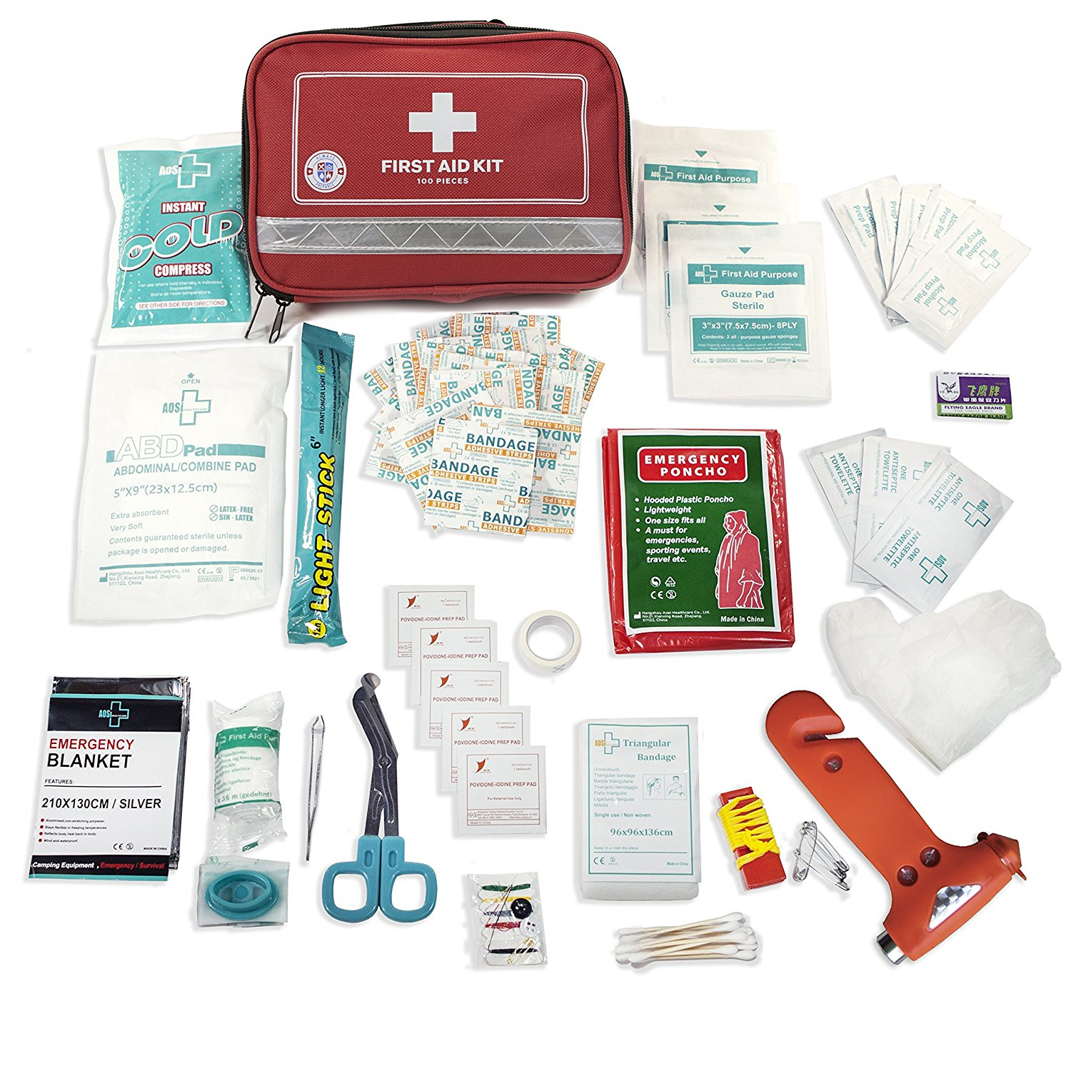 a picture of a survival first aid kit