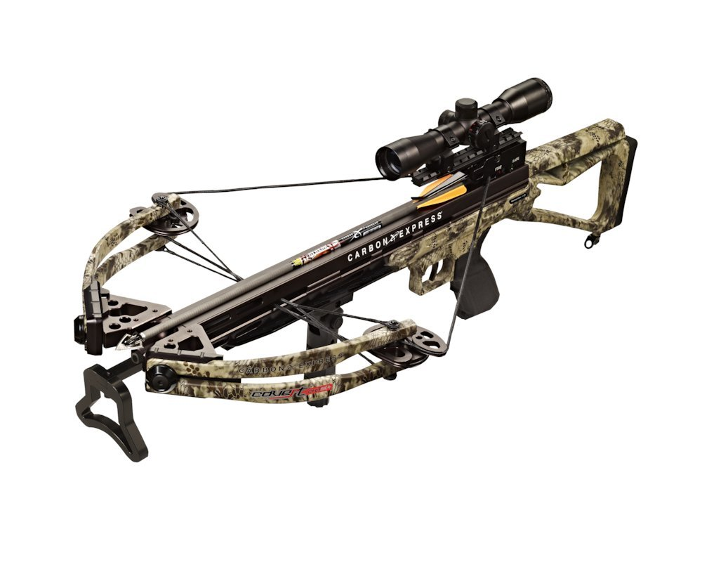 a picture of a carbon express covert cx-3 sl+ crossbow